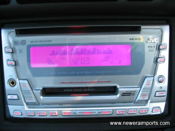 JVC CD/MD/Radio