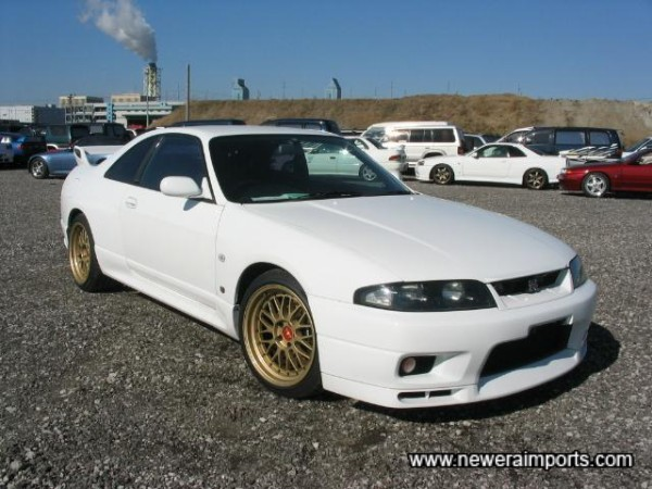 Japanese choose white as their first choice for sports cars...