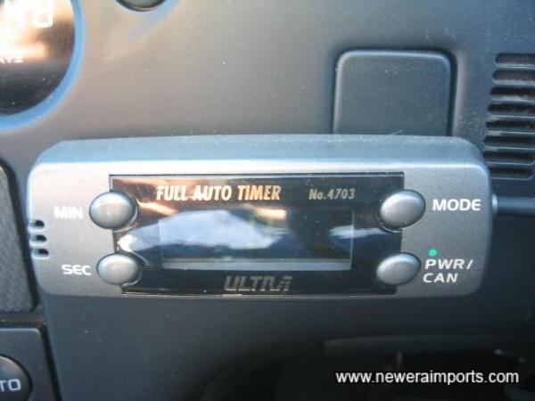 Ultra - Turbo timer.