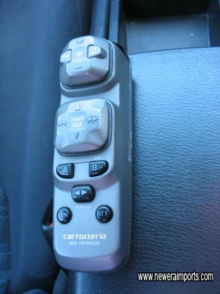 Remote Control for the head unit.