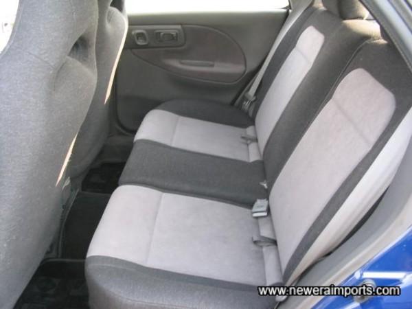 Unused seats.