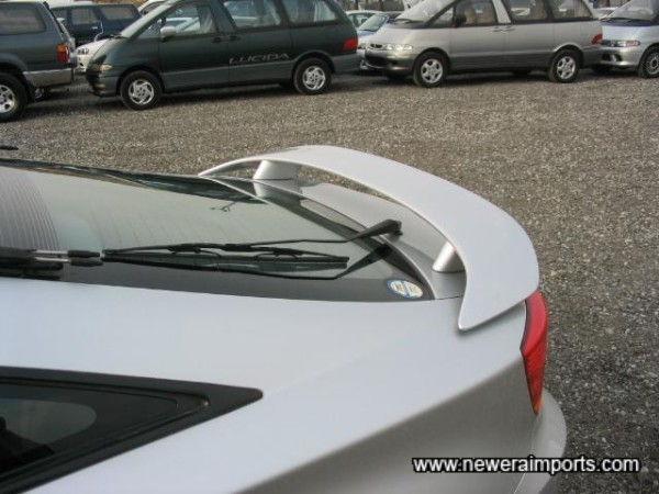 Factory Option Rear Spoiler