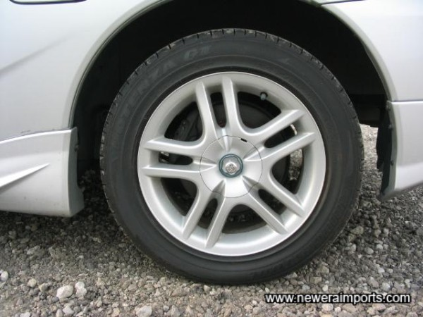 Factory Option 15'  Alloy Wheels