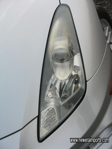 Projector Style Headlamps Give Improved Lighting