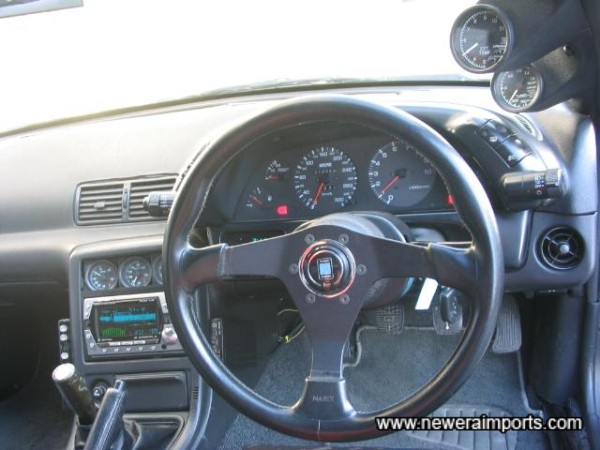 Nardo Steering Wheel - Unmarked.