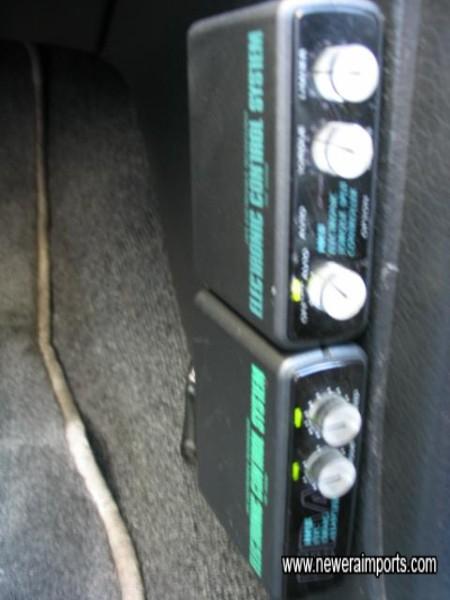 HKS Atessa 4WD controller & Grag adaptor.