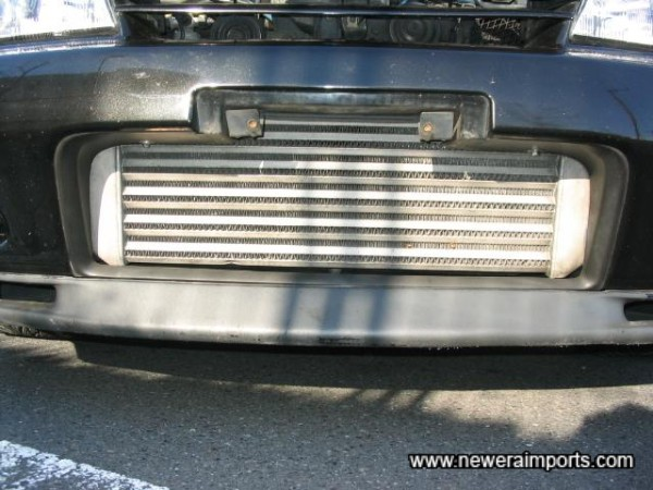 HKS double core intercooler.