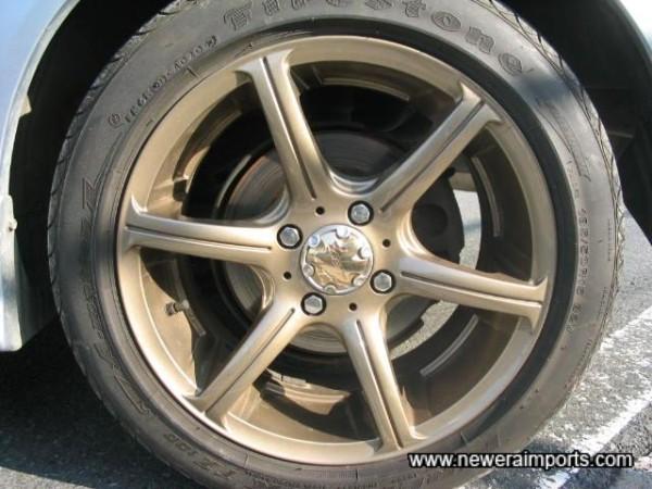 15' Zeit SS Bronze Ally Wheels