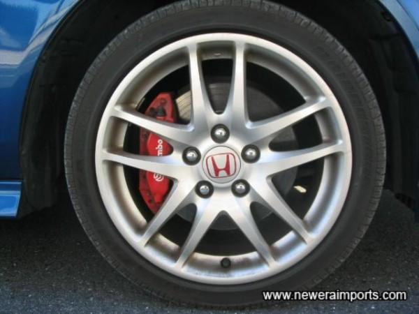 Brembo 4 Piston Front Brakes