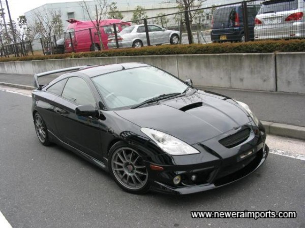 TRD (Toyota Racing Development) bodykits not available in UK!