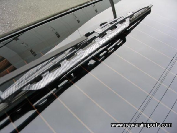 Carbon Look Wiper Arms!