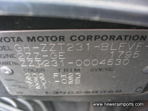 Chassis Reference Plate