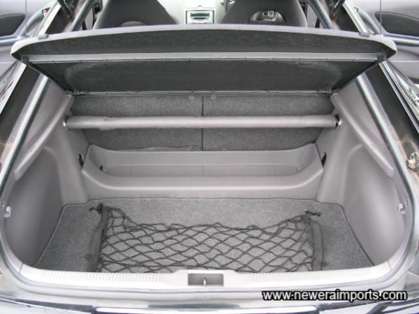 Equally Impressive Rear Load Space