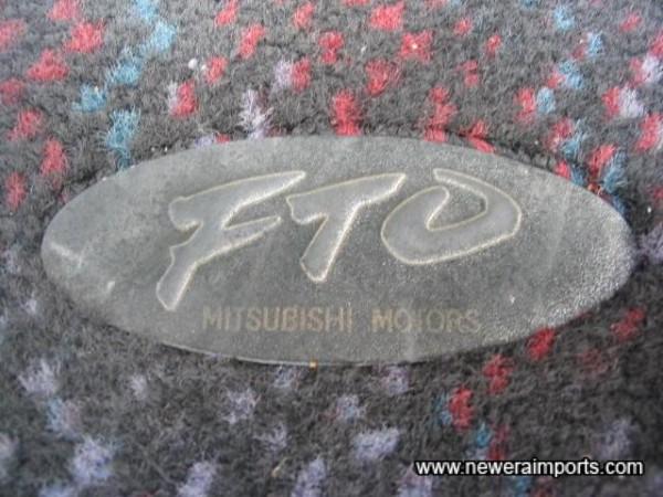 Original fitted mats.