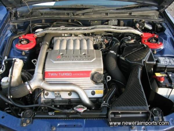 The Impressive 280BHP Engine