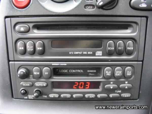 Original CD/Cassette/ Radio.