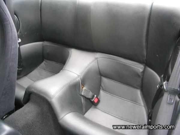 Original rear seats - unused.