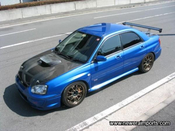 Looks like an Sti 8 that's been cosmetically improved!