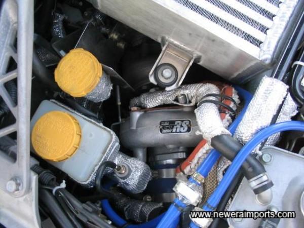 HKS GT RS roller bearing turbo.