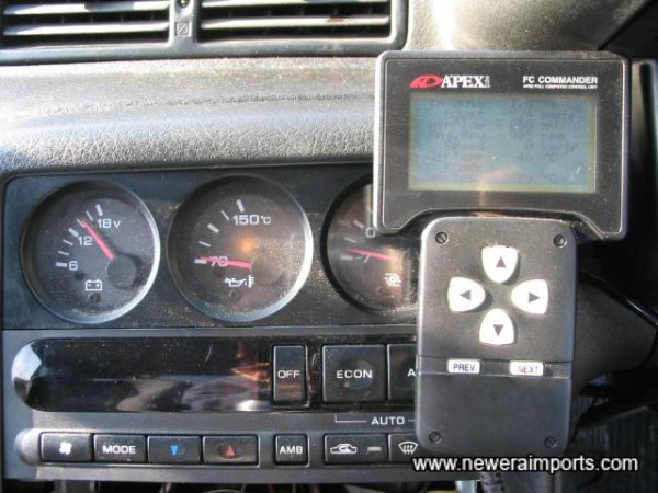 Apexi Power Fuel Computer Controller.