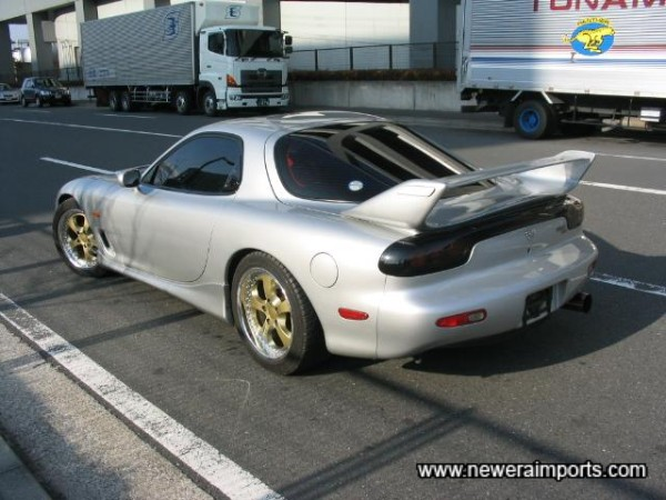 Mazdaspeed 1999 look rear wing.