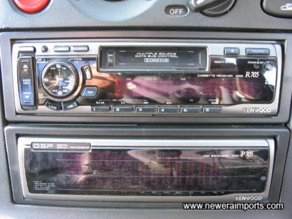 Uprated Hifi - Included free of charge with this car.