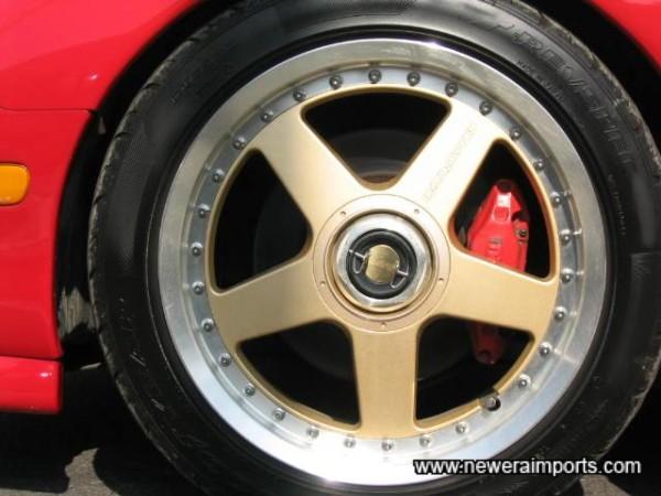 Mazdaspeed Split Rim Alloy Wheels