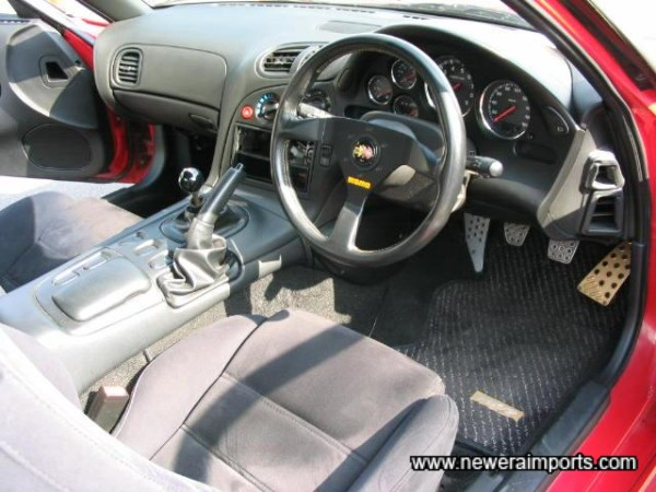 Momo Leather Steering Wheel