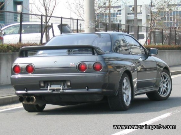 Classically agressive yet subtle R32 GT-R looks.