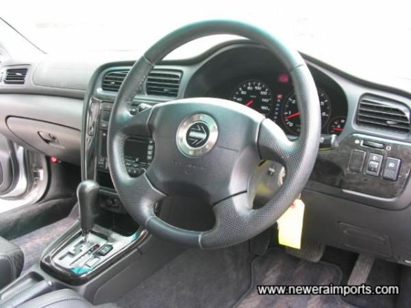 Momo SRS airbag steering wheel.