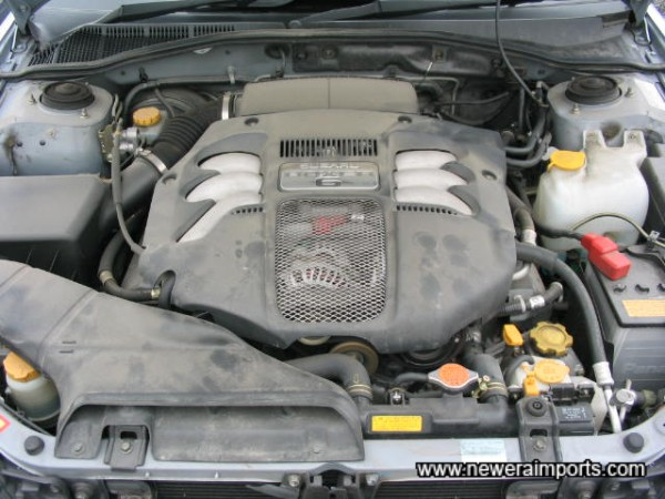 6 Cyliner & 3 litres of 220 bhp torquey punch.