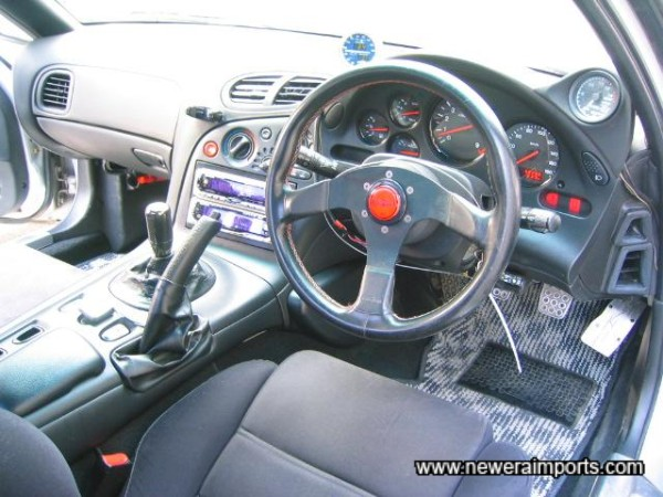 Ital Volanti Sports Steering Wheel.