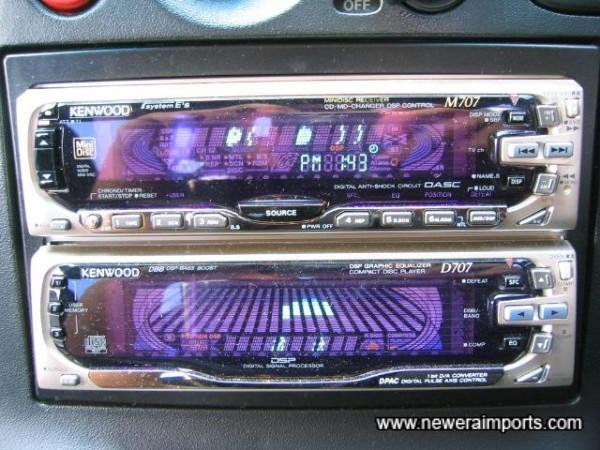 High quality Kenwood Hifi. 200W MD/CD/Radio.