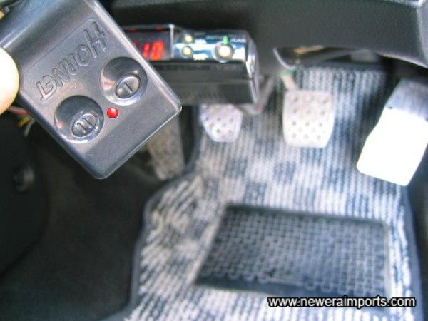 Remote control for alarm & central locking.