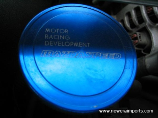 Mazdaspeed oil filler cap.
