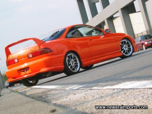 Everyone we know who has seen this car in Japan comments.... WOW!!