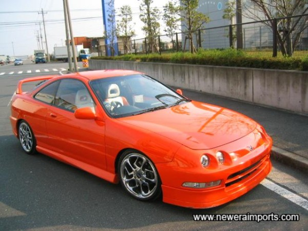 The best paint job we've seen outside of the Tokyo Auto Salon!