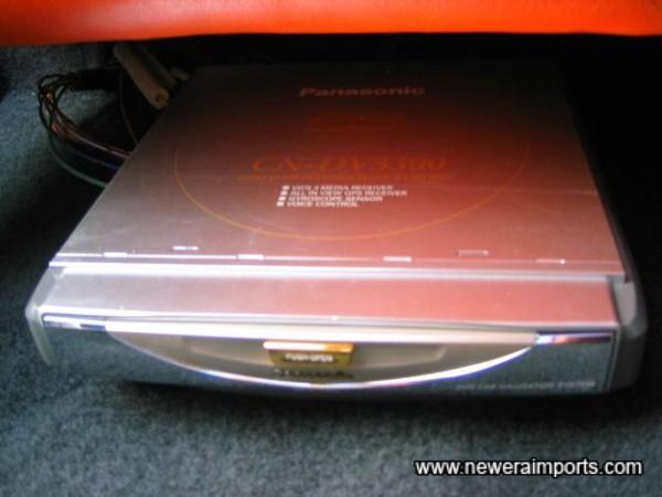DVD Navi reader.