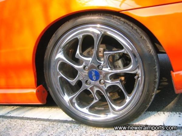 Shod with Pirelli P7000's
