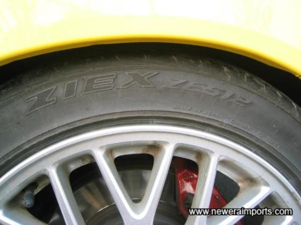 Falken Tyres.