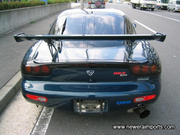 Mazdaspeed GT wings cost close to £1,000 new!