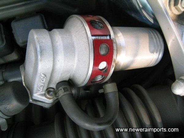 Apexi dump valve with adjustment.