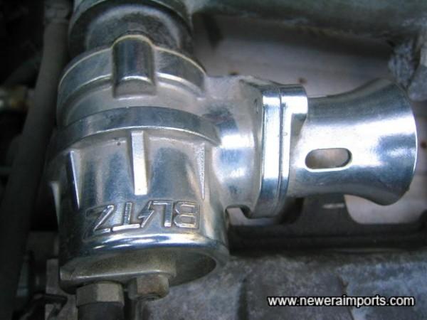 Blitz dump valve.
