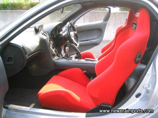 Reclinable Recaro seats - as new!