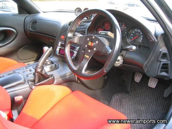 Momo Steering wheel has replaced original