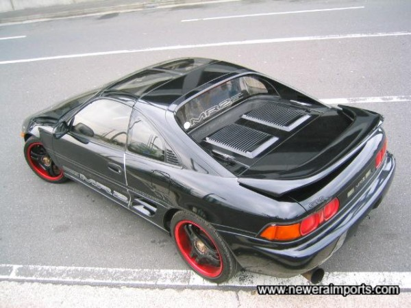 Genuine 3rd Revision MR2 Turbo T-Bars this good are few & far between!