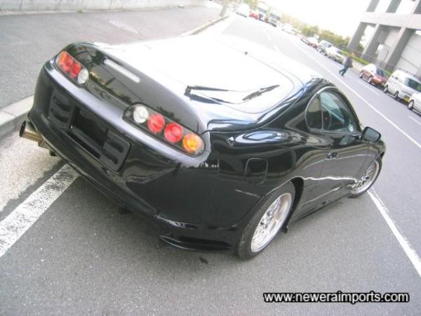 Notice the rear diffuser under the bumper.