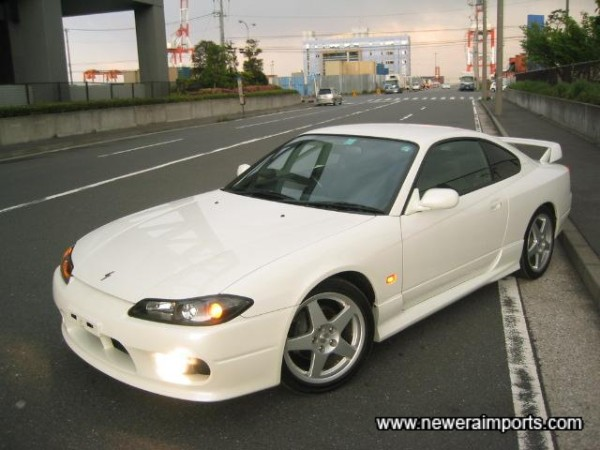 S15 Spec R Aero - Mint examples are still seriously sought after in Japan.
