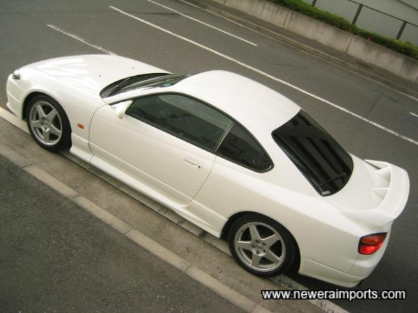 No ordinary looking coupe - It has that unmistakable Japanese look to it.