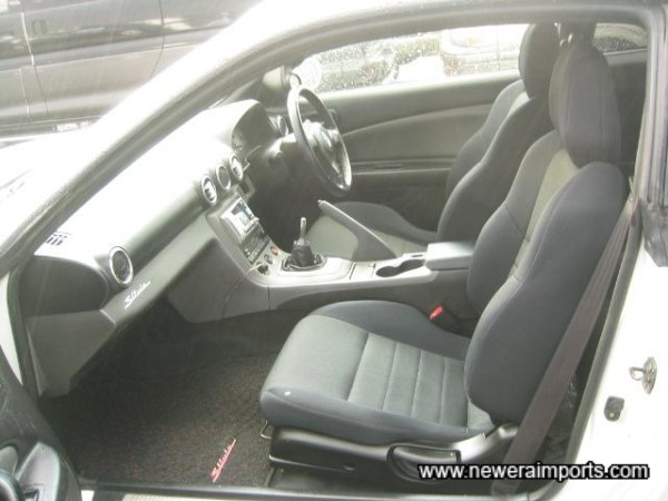 Interior is unmarked - please note pictures of the inside were taken in the rain!!